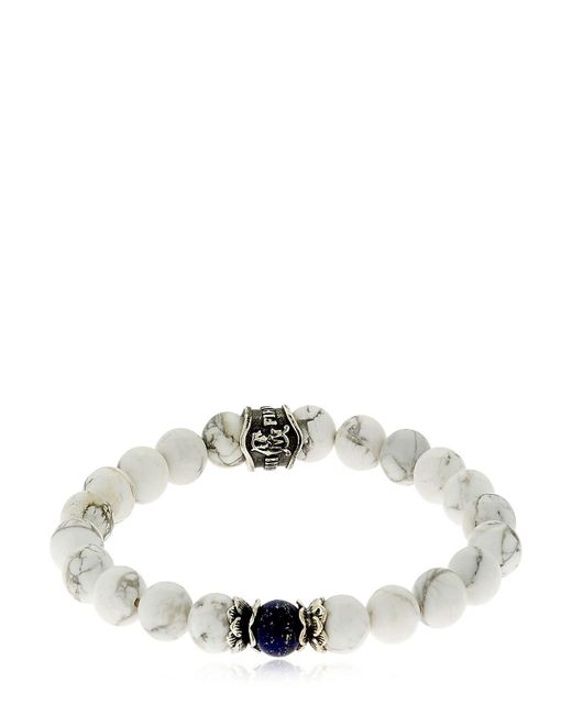 Cantini Mc Firenze | White Bracelet With Beads | Lyst