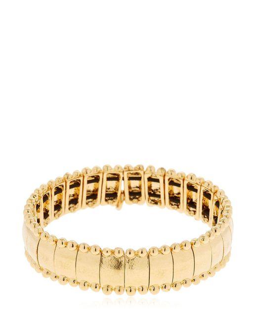 Philippe Audibert | Metallic Lou Gold Plated Bracelet | Lyst