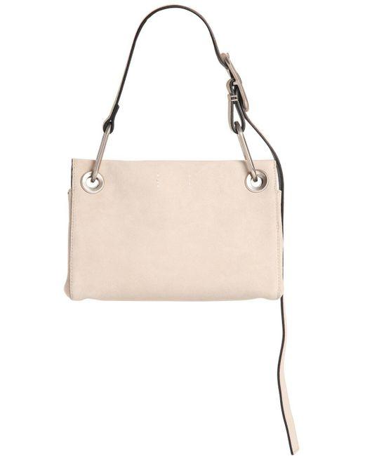 Calvin Klein BELTED SUEDE SHOULDER BAG kc3P5j7