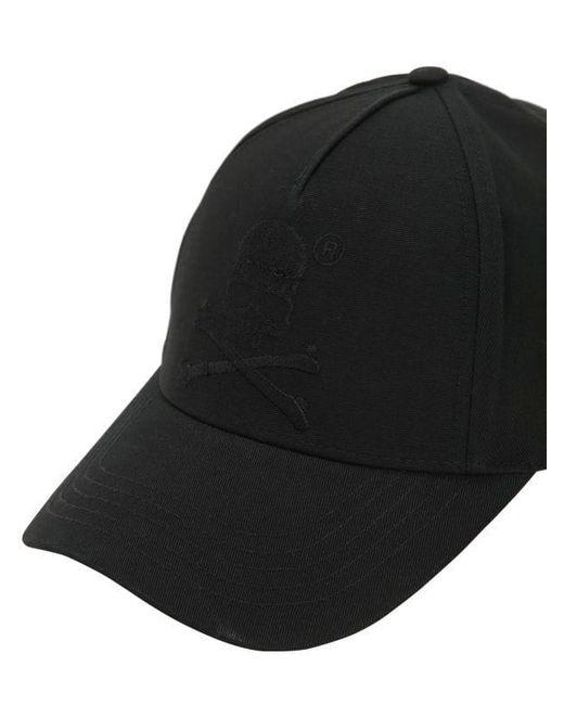 6c523e9cde1 ... Philipp Plein - Black Embroidered Cotton Canvas Baseball Hat for Men -  Lyst ...