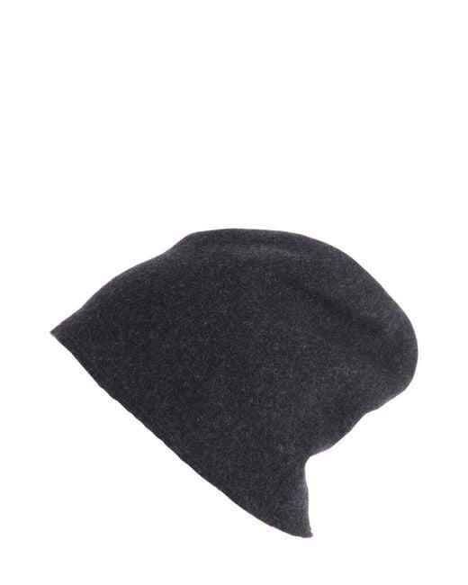 Scha   Gray Taiga Zip Long Wool Beanie Hat for Men   Lyst