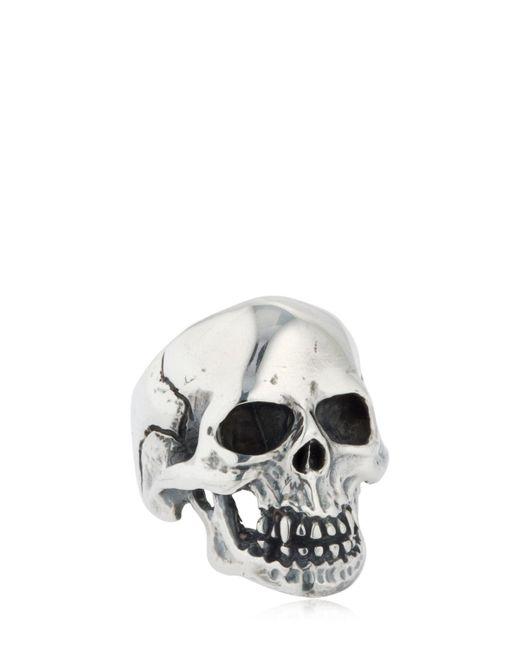 Cantini Mc Firenze | Metallic Skull Ring for Men | Lyst