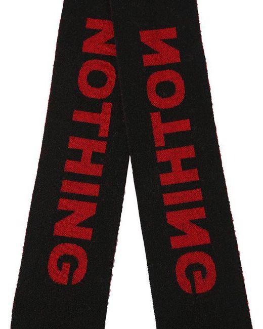 Nothing jacquard scarf - Red Lanvin 31rkvu1F