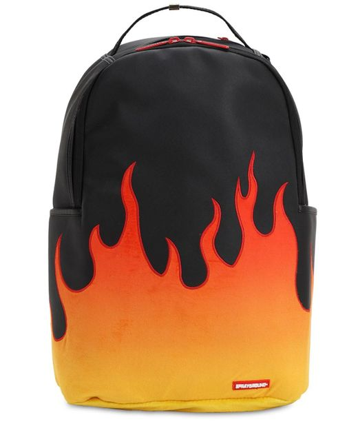 "Sprayground - Black Rucksack Mit Druck ""cream"" for Men - Lyst"