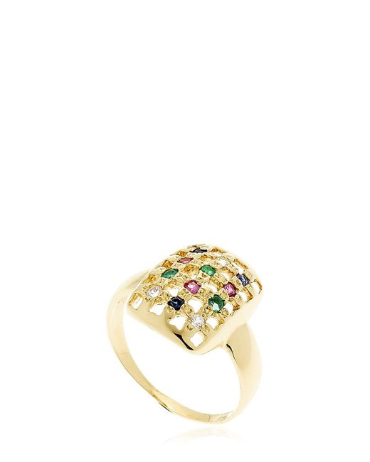 MARGOVA JEWELLERY - Metallic Go Pinky Gold Pinky Ring - Lyst