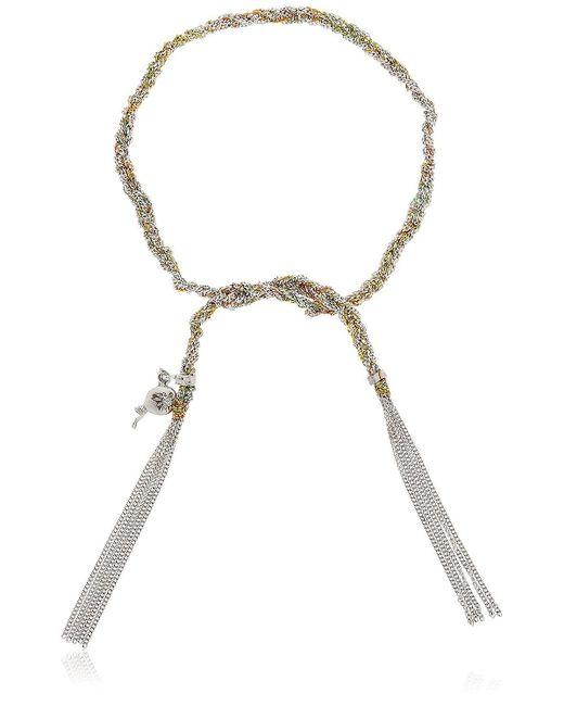 Carolina Bucci Metallic Lucky Celebration Gold Bracelet