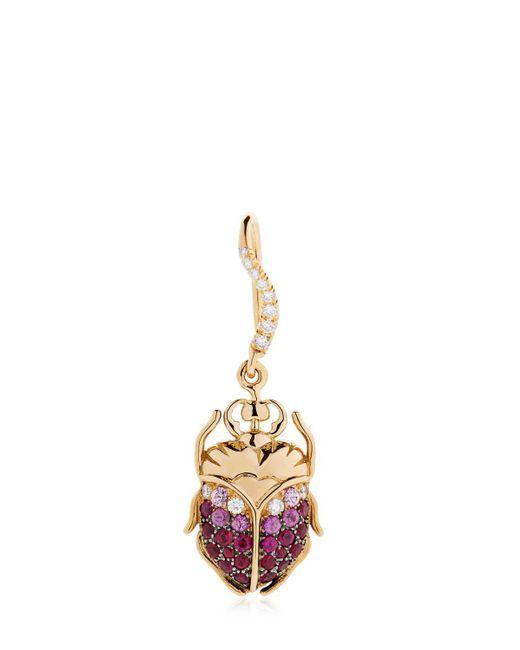 Aurelie Bidermann - Metallic Beetle Gold Mono Earring - Lyst