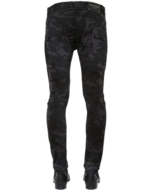 Buy Cheap Reliable 16CM SLIM CAMO DESTROYED DENIM JEANS Clearance Limited Edition Best Store To Get For Sale 2018 Unisex qLAGRSG
