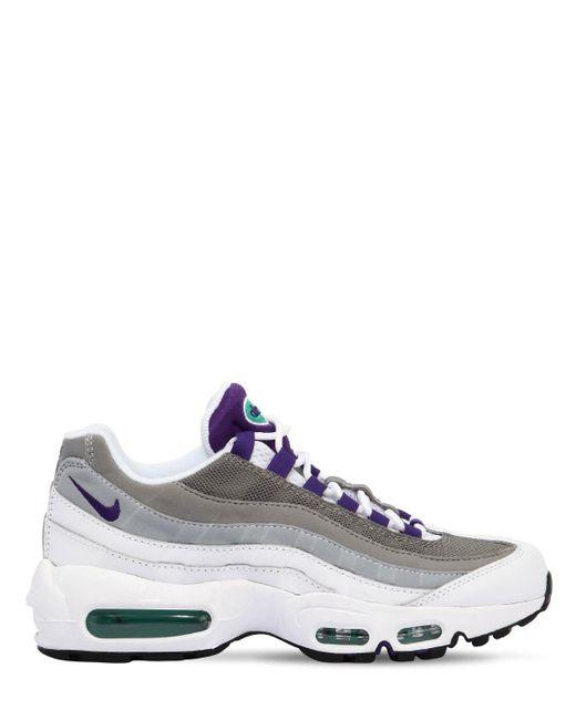 Nike - Purple Air Max 95 Sneakers - Lyst