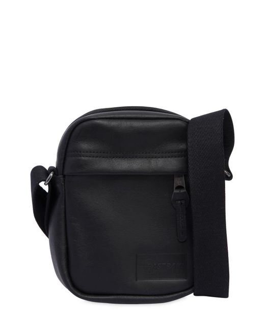 Eastpak - Black 2.5l The One Leather Crossbody Bag for Men - Lyst
