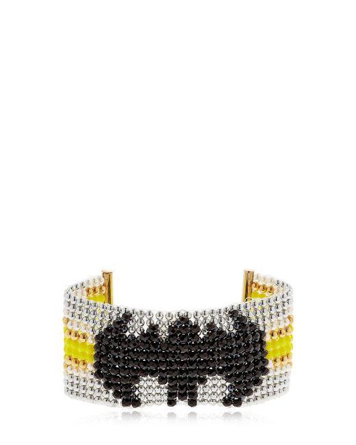 Bijoux De Famille | Metallic Batgirl Beaded Cuff Bracelet | Lyst