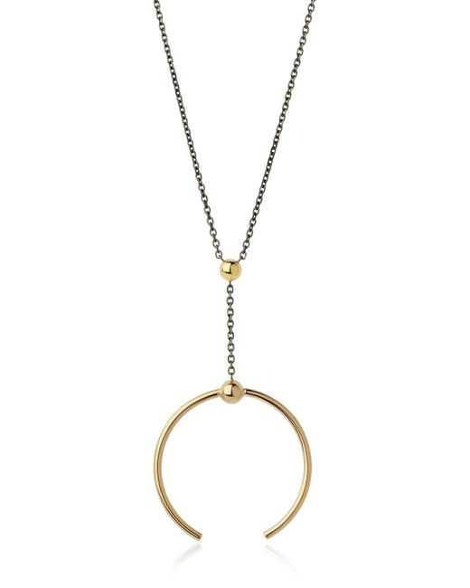 Maria Black | Metallic Phoenix Medi Necklace | Lyst