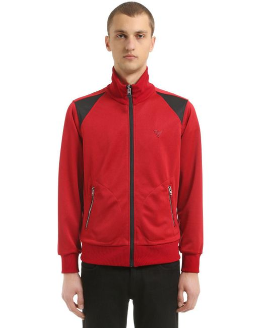 COACH - T-rex Embroidered Techno Track Jacket for Men - Lyst