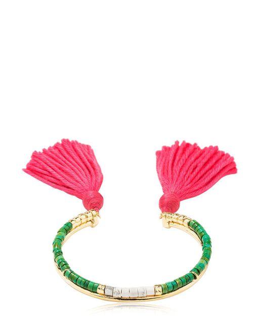 Aurelie Bidermann | Pink Sioux Bracelet | Lyst