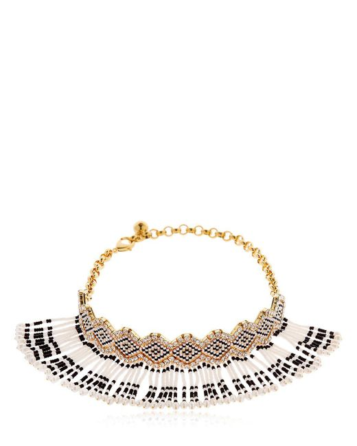 Shourouk - Multicolor Mambo Beaded Choker - Lyst