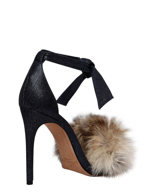 Alexandre Birman Clarita Fur-Trimmed Sandals w/ Tags cheap countdown package 7GHRm
