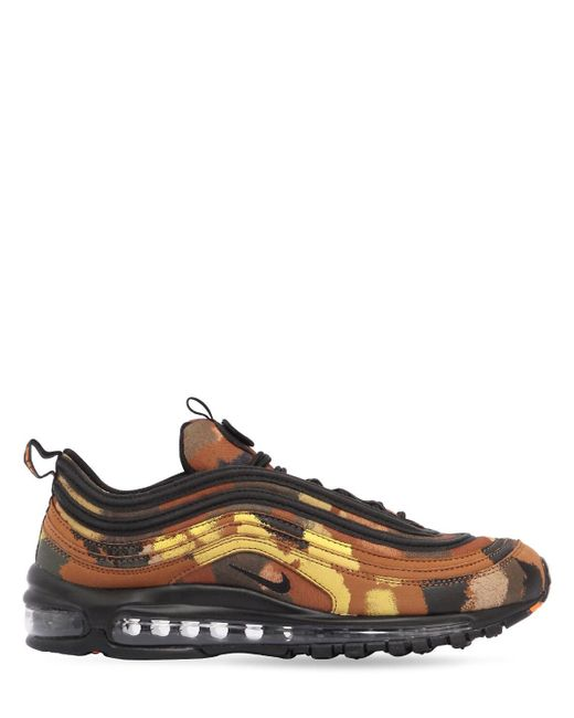 Nike Multicolor Air Max 97 Camo Pack Italy Sneakers