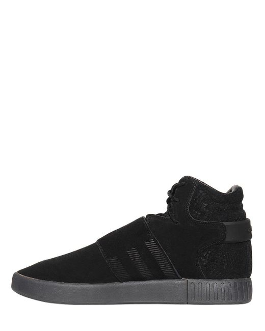 Adidas In Top Invader Tubular Originals Sneakers Lyst High Suede dnPqapxdUw
