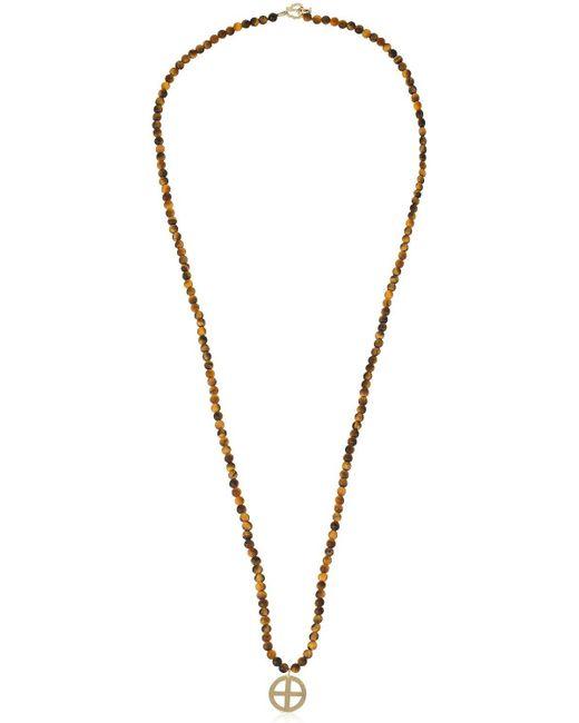 Luis Morais - Multicolor Halskette Mit Kreuzanhänger for Men - Lyst