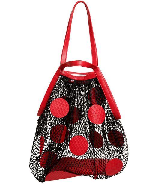Polka-dot fishnet shoulder bag Maison Martin Margiela Sale Inexpensive Free Shipping Deals For Sale Sale Online Sast Online zP5cLMIv