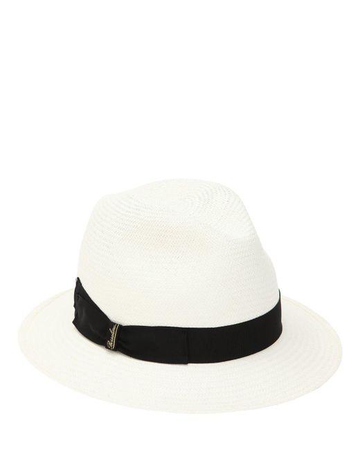 Borsalino - Multicolor Fine Straw Panama Hat - Lyst ... 20c8087a3c60