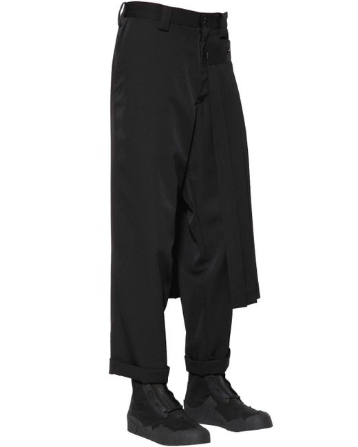 detachable pocket trousers - Black Yohji Yamamoto phyD2Pt8I6