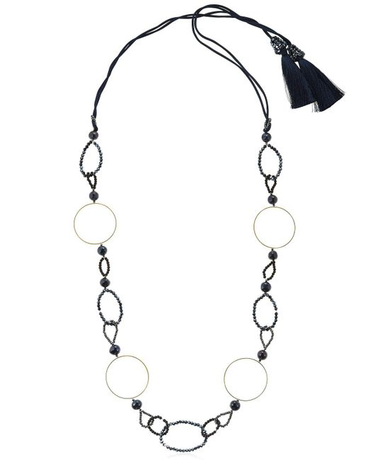 Night Market - Multicolor Symmetric Circle Necklace - Lyst