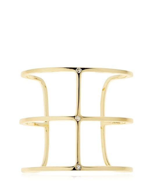 Elizabeth and James - Metallic Mondrian Cuff - Lyst