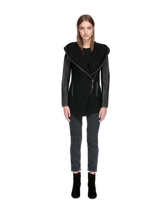 Mackage Black Friday Sale | Joss High-low Hem Wool Jacket With ...