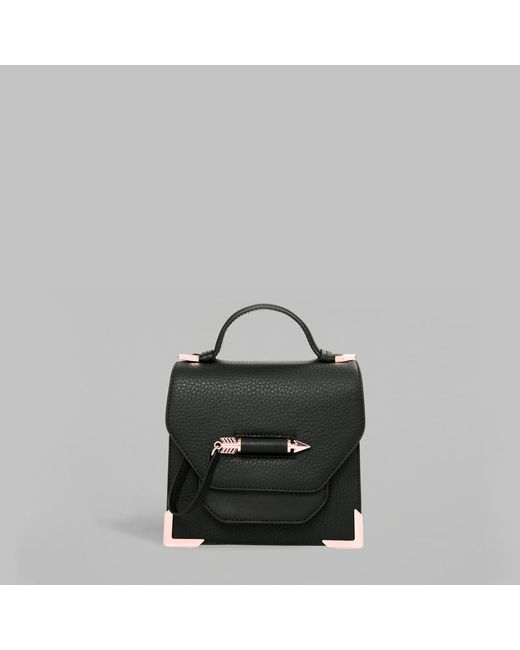 Mackage - Black Rubie Leather Crossbody Bag - Lyst