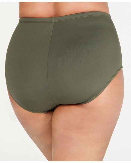 a18d16d13dafc ... La Blanca - Green Plus Size High-waist Swim Bottoms - Lyst