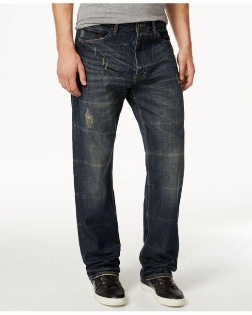Sean John - Blue Patch-pocket Hamilton Jeans for Men - Lyst