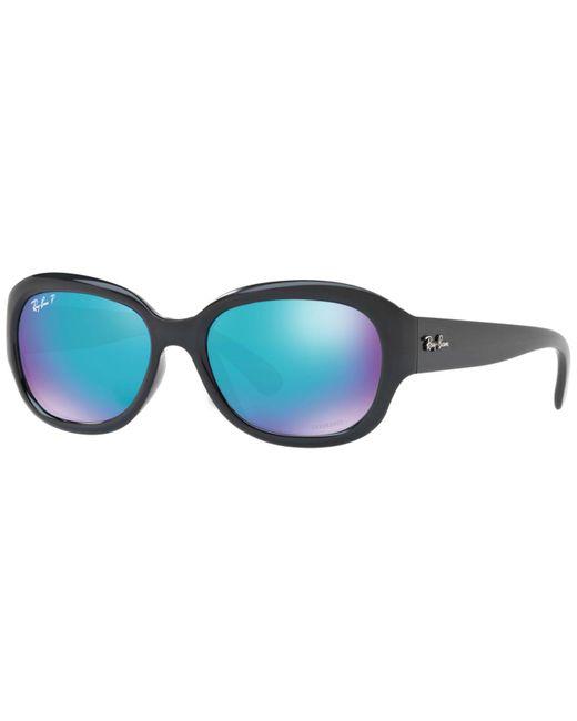 Ray-Ban - Blue Polarized Chromance Collection Sunglasses, Rb4282ch 55 - Lyst