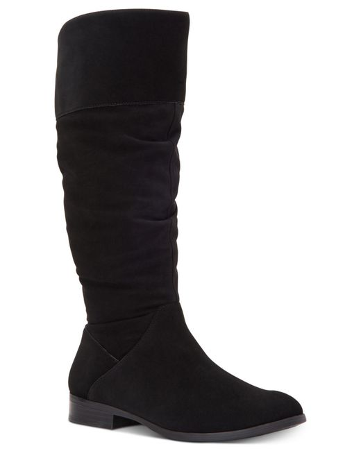 Style & Co. - Black Kelimae Scrunched Boots, Created For Macy's - Lyst