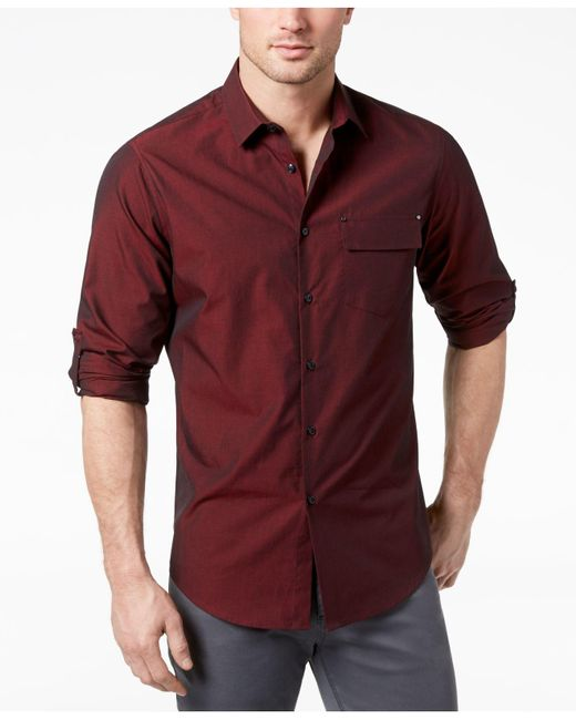 INC International Concepts - Red Ryan Topper Shirt, Created For Macy's for Men - Lyst