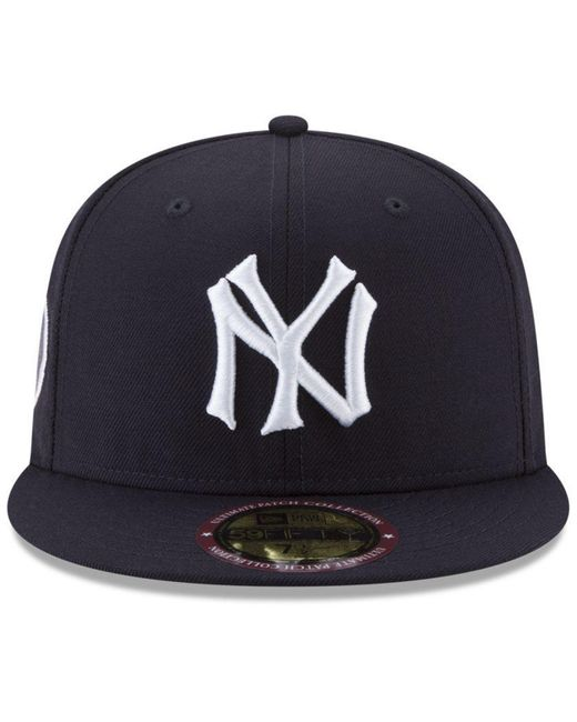 70e78d5737e ... KTZ - Blue Ultimate Patch Collection World Series 2.0 59fifty Fitted Cap  for Men - Lyst ...