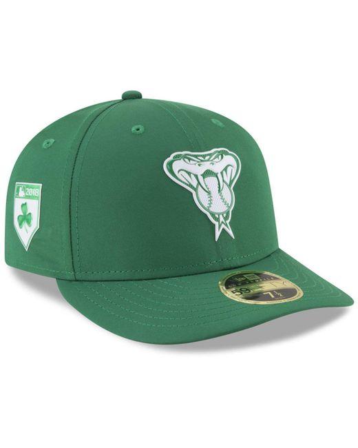 KTZ - Green Arizona Diamondbacks St. Patty's Day Pro Light Low Crown 59fifty Fitted Cap for Men - Lyst