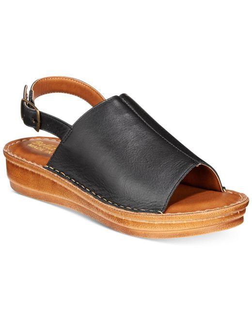 Bella Vita - Black Wit-italy Sandals - Lyst