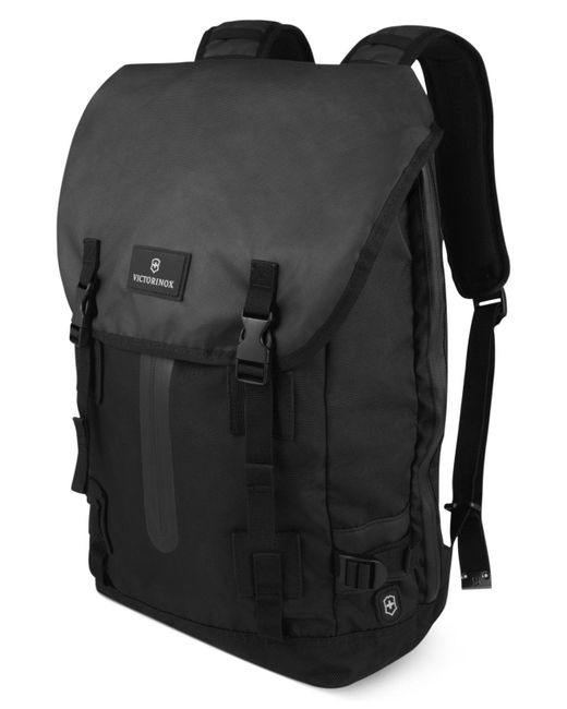 Victorinox - Black Flapover Laptop Backpack, Altmont 3.0 Drawstring - Lyst