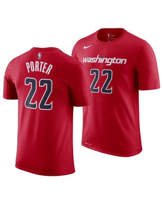 Nike - Red Otto Porter Jr. Washington Wizards Icon Player T-shirt Otto  Porter ... 65c3cf833