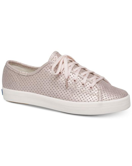 Kate Spade - Multicolor Keds For Kickstart Perforated Shimmer Sneakers - Lyst