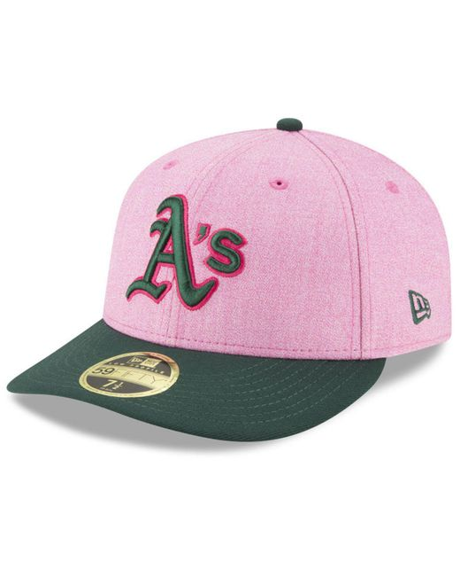 KTZ - Pink Oakland Athletics Mothers Day Low Profile 59fifty Fitted Cap - Lyst