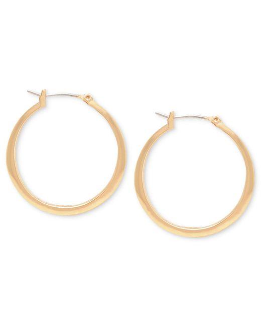 Kenneth Cole   Metallic Earrings, Gold-tone Hoop Earrings   Lyst