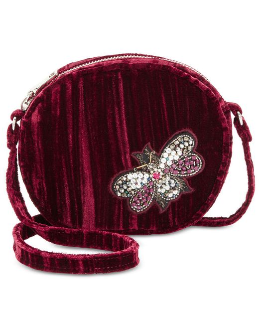 Steve Madden | Red Lotus Mini Canteen With Bug Appliqués | Lyst