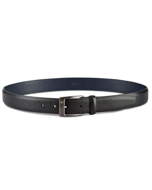 Original Penguin - Black Sun Tanned Leather Belt for Men - Lyst
