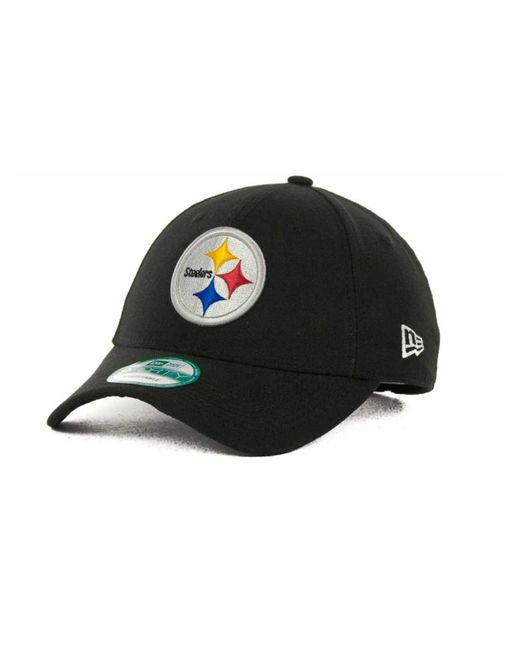 KTZ - Black Pittsburgh Steelers First Down 9forty Cap for Men - Lyst