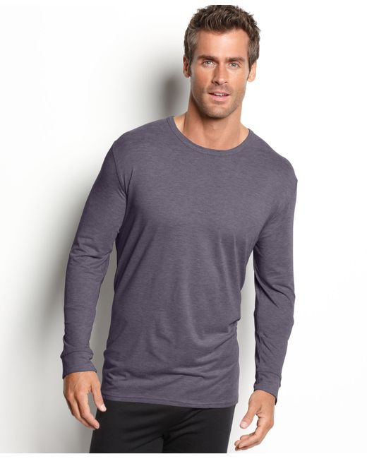 32 Degrees | Gray Heat, Thermal Long Sleeve Crew for Men | Lyst