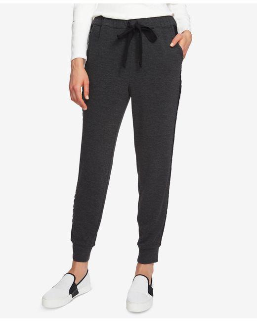 1.STATE - Gray Drawstring-waist Jogger Pants - Lyst