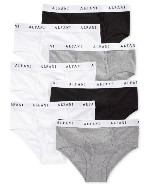 Alfani | Gray Men's Low-rise Briefs 7-pack for Men | Lyst