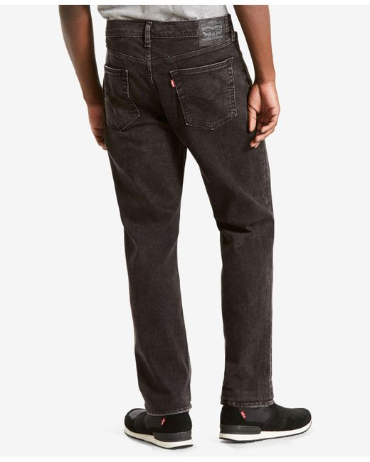 Levi S 541 Athletic Fit Jeans In Black For Men Lyst